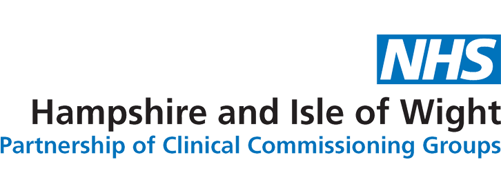 Hampshire and Isle of Wight Partnership of Clinical Commissioning Groups logo