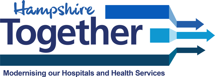 Hampshire Together: Modernising our Hospitals and Health Services logo
